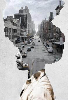 Double Exposure Portrait woman city street by Andrea Costantini.jpg